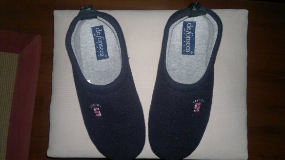 Yay! Slippers!