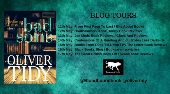 Bad Sons blog tour banner
