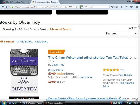 The Crime Writer Best Seller
