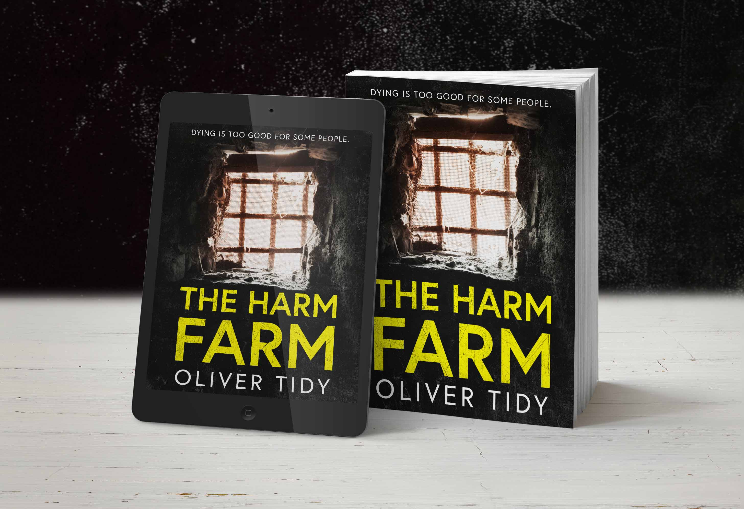 The Harm Farm kindle and paperback shot