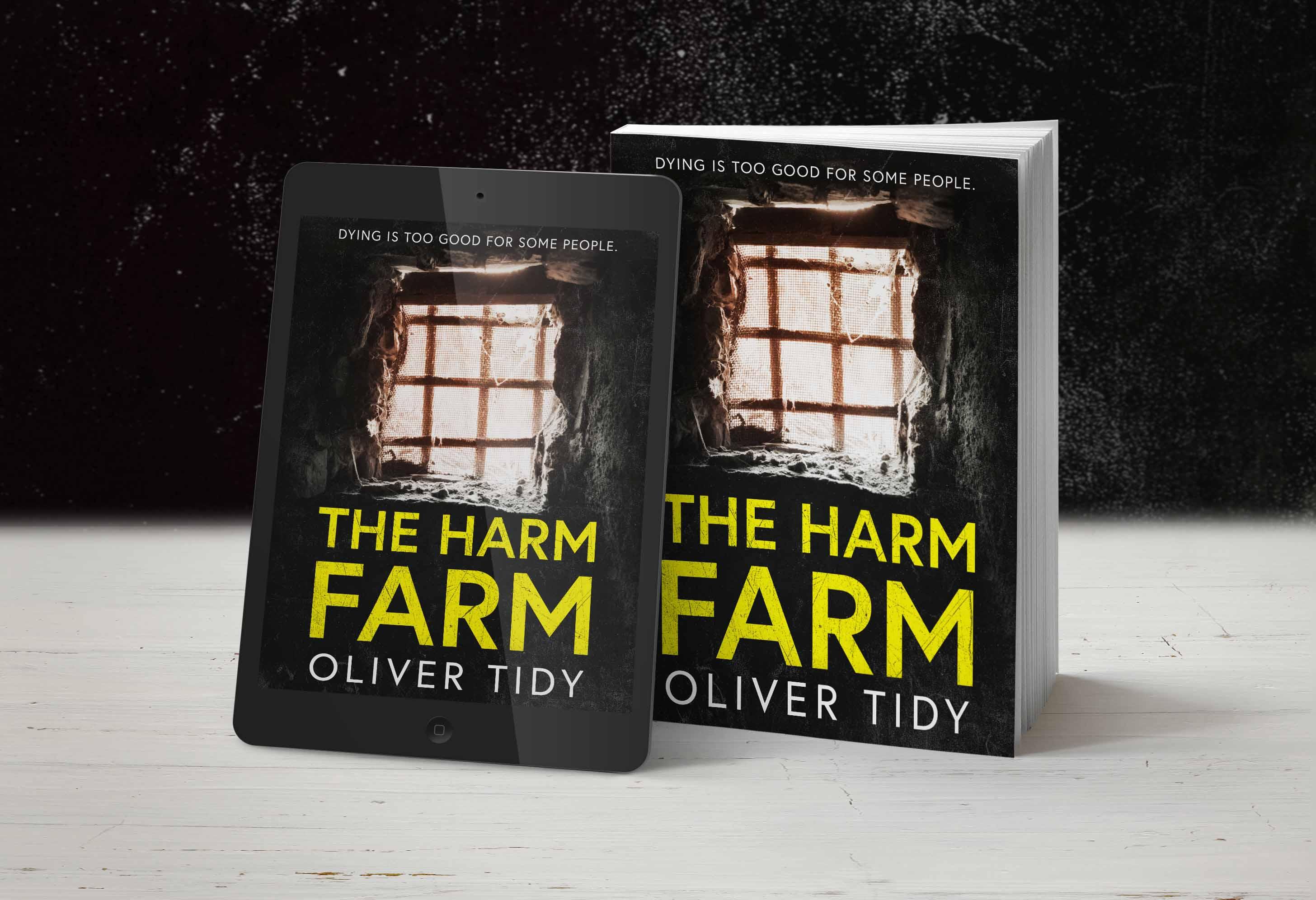 The Harm Farm kindle and paperback shot